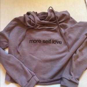 *NWOT* cropped hoodie